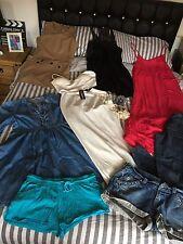 Joblot Bundle Of Size 14 Clothes And Accessories Inc Dresses Jeans  Etc 10 Items