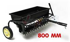 Aérateur scarificateur + épandeur 800 mm - petits tracteurs ou quads D94117
