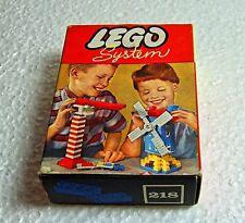 Vintage Lego  409  box with full  blocks