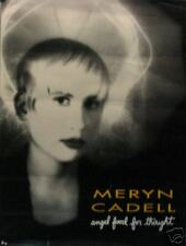 MERYN CADELL POSTER; ANGEL FOOD FOR THOUGHT  (C13)