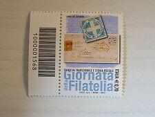 Italia   2013   giornata della filatelia    codice a barre 1568