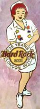 Hard Rock Cafe LONDON 2006 35th Anniversary RITA Original STAFF Member PIN 31300