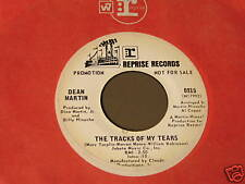 Dean Martin-The Tracks Of My Tears-Orig.'70 Promo 45!