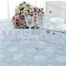 Wooden Mr and Mrs Wedding Gift Decoration Letters Photography Photo Props