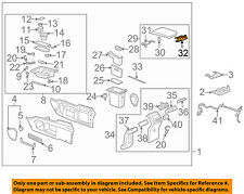 Buick GM OEM 02-07 Rendezvous Console-Hinge 10430118