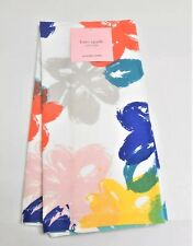 Kate Spade FLOWER BOX Multi Color Flowers 2 Piece Set Kitchen Towel