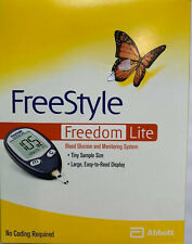 FreeStyle FreedomLite, Blood Glucose Monitoring System - Meter,lancets,case.