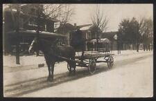 REAL PHOTO Postcard ANDERSON Indiana/IN  12th Street Area Family Houses/Homes
