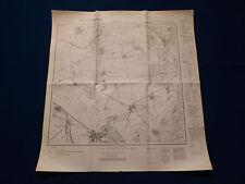 Landkarte Meßtischblatt 4534 Allstedt, Bornstedt, Riestedt, Winkel, um 1945