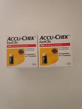 Accu-Chek FastClix Lanzetten MHD 01/2017 Neu/ovp