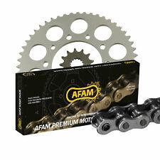 Kit Set de chaîne AFAM 428M pour Kawasaki KMX 125 MX125A 1989