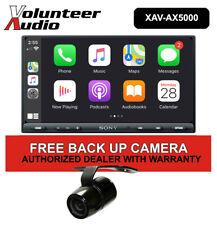 """Sony XAV-AX5000 7"""" Car Stereo, CarPlay, Android Auto, with FREE Rear Camera!"""