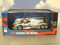 Ixo 1/43 Audi R18 E-Tron #1 Lmp1 Ganador 1st Le Mans 2012 Lotterer/Fassler