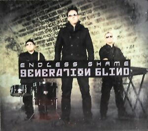 "Endless Shame ""Generation blind"" CD 2011 LIMITED EDITION ENHANCED RARE IMPORT"