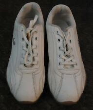 Lonsdale White Lace up Trainers Uk - 4