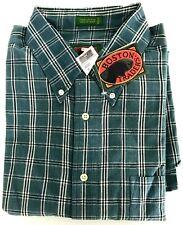 Boston Traders Men's Flannel Shirt Size XL Soft 100% Cotton Plaid Blue Warm Top