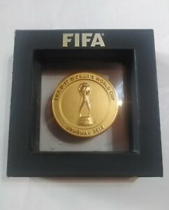 Fifa world cup 2018 medal official participation player collection soccer