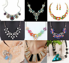 Women's Necklaces Party Occasion, Gemstone, Bling Fashion Statement Necklace