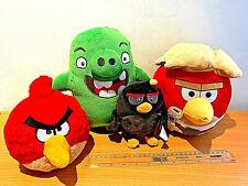 Angry Birds Plush Soft Toys Bundle