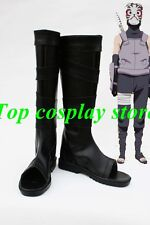 Naruto Black Ops anbu Anime The Anbu Member Cosplay Boots shoes #NAR009