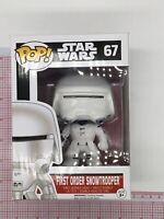 Funko Pop! Star Wars First Order Snowtrooper #67 F02