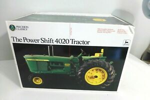 ERTL John Deere Precision Classics Power Shift 4020 Tractor, 1/16, NEW IN BOX!
