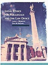 Legal Ethics for Paralegals and the Law Office (Paralegal Service) by Morrison,