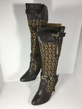 Women's Sexy Babyphat Baby Phat Kimora Lee Simmons Tall Stilettos boots size 7B