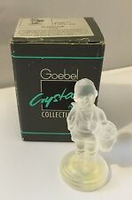 Goebel Crystal Collection #8497 Village Boy With Box