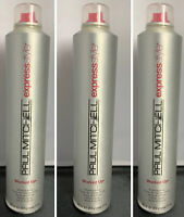 3 Paul Mitchell Express Style Worked Up Working Spray Hairspray 11oz ea (157)