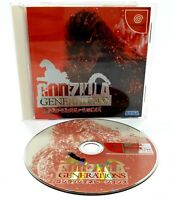 Sega Dreamcast - Godzilla Generations - NTSC-J Video Game