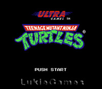 Teenage Mutant Ninja Turtles - Tmnt NES Nintendo Game