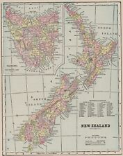 New Zealand 1800-1899 Date Range Antique Australia/Oceania Maps ...