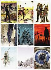 2013 Walking Dead Comic Book Series 2 - 71 Card Base Set + Checklist + Empty Box