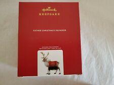 Hallmark 2020 Father Christmas Reindeer Limited Edition Keepsake Ornament