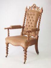 Walnut Original Gothic Victorian Chairs (1837-1901)