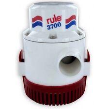Rule Marine 3700 GPH Bilge Pump 12 Volt - Non-Automatic - 14A