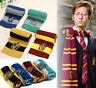 Harry Potter Schal Strickschal Gryffindor Slytherin Hufflepuff Ravenclaw Cos Neu