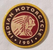 Indian Motorrad Vintage Logo original USA XL Magnet Schild