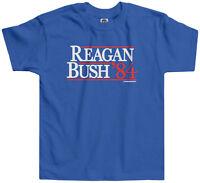 Threadrock Kids Reagan Bush '84 Toddler T-shirt Vintage Political