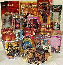 NEW PIRATES OF THE CARIBBEAN EASTER TOY gift basket toys BIRTHDAY PLAY SET RADIO