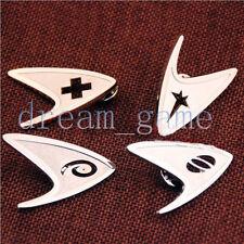 SHIPS FAST! 4PCS Star Trek TNG Starfleet Metal Brooch Badge Cosplay Accessories