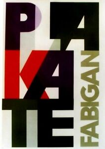 Original vintage poster PLAKATE FABIGAN POSTER EXPO c.1955