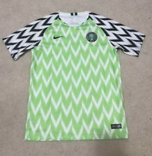 Nike Nigeria 2018 Home Green White Black Soccer Jersey Youth XL 51b643580