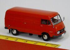 Mercedes MB L 206 D Box Red - Brekina Starmada 13306