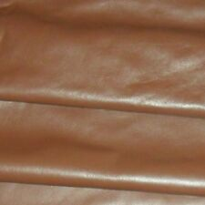 Genuine Brown Soft Cow Leather Hide / Skin  Various Sizes