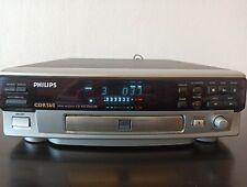Philips cdr560 CD Player y grabador de plata