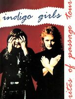 INDIGO GIRLS 1992 RITES OF PASSAGE TOUR CONCERT PROGRAM BOOK BOOKLET / NM 2 MINT