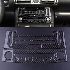 Für Lexus IS250 IS350 2014-2018 Kohlefaser Auto CD Armaturenbrett Aufkleber A7