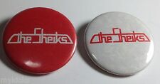 Vintage Promo THE SHEIKS set of 2 Buttons / Pinback around 1980